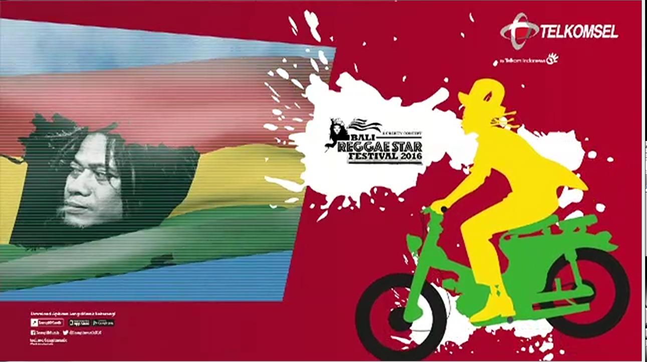 Promo Tony Q Rastafara Bali ReggaeStar Festival 2016