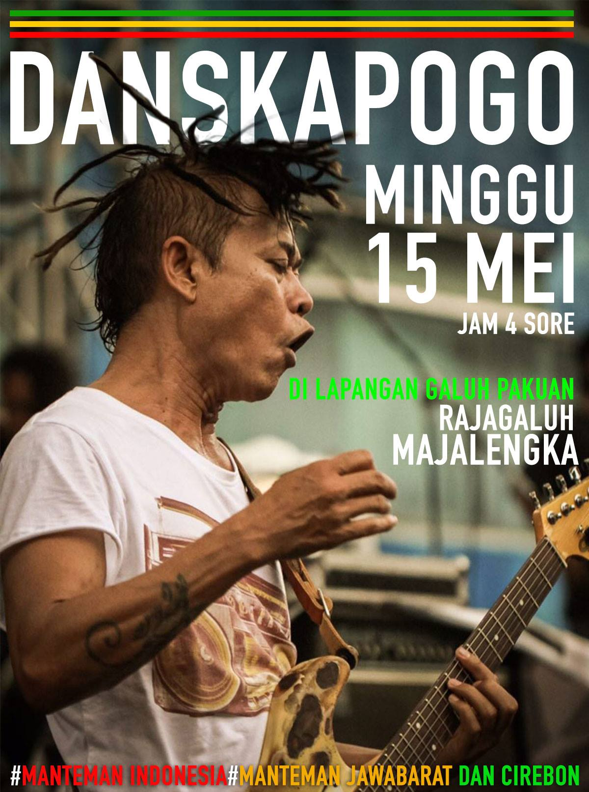 Tony Q Rastafara - Konser Rajagaluh Majalengka