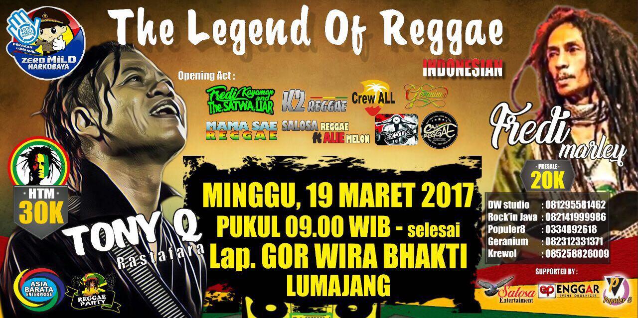 Tony Q Rastafara - Event 19 Maret Lumajang 2017