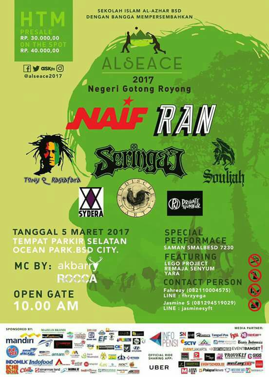 Tony Q Rastafara - Ocean Park BSD City, Tangerang 5 Maret 2017