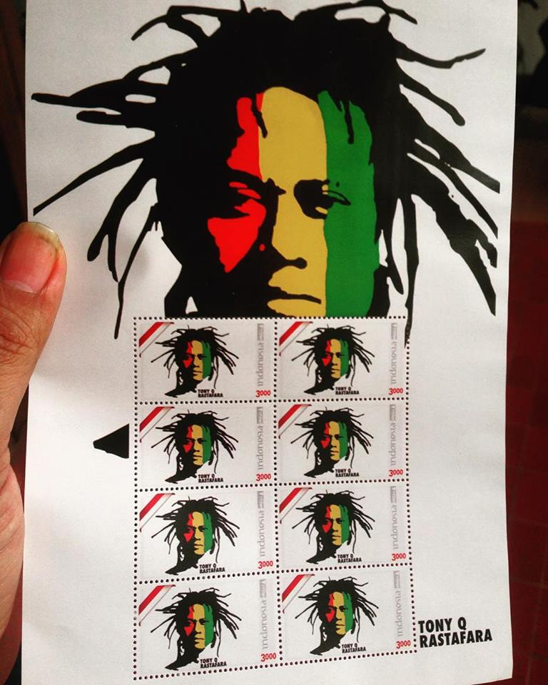 Tony Q Rastafara - Perangko Reggae