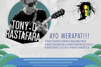 Tony Q Rastafara World Culture Forum Music Show 2016 - Bali 13 Oktober 2016